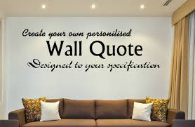 Make Your Own Wall Decal Diy  Color The Walls Of Your House - Design your own wall art stickers