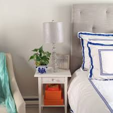 nightstand dazzling nightstands for tall beds wall mounted