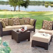 Modern Deck Furniture by Patio Outdoor Wicker Patio Furniture Sets Wicker Patio Dining