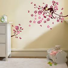 Nursery Monkey Wall Decals Wall Decals Unique Coloring Round Wall Decals 136 Round Wall