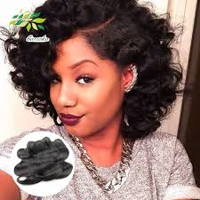 wet and wavy human hair weave hairstyles 2016 fashionable cheap brazilian short body wave weaves 6 pcs lot