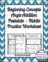 Angle Addition Postulate Worksheet Answers Best 25 Geometry Angles Ideas On Angles Maths