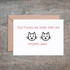 two are better than one wedding card wedding card