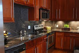 Kitchen Kitchen Backsplash Ideas Black Granite by Kitchen Backsplash Ideas Dark Cherry Cabinets Trendyexaminer