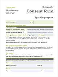Examples Of A Business Email by 12 Photography Consent Forms Free Sample Example Format Download