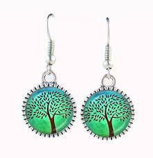 green tree earrings aliexpress buy green tree earring tree wedding