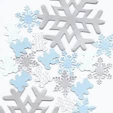 Blue Snowflakes Decorations Snowflake Theme Decorations Winter Wonderland Baby Shower Snow
