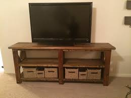 Rustic Tv Console Table White Rustic X Tv Console Table Diy Projects