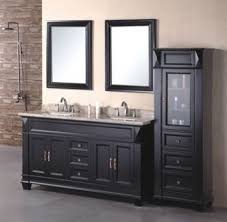 Black Bathroom Vanity With Sink by 60inc Double Sinks Bathroom Vanity Cabinet D970 From Double Sinks