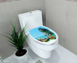 bathroom waterproof beach bathroom decor toilet lid for bathroom