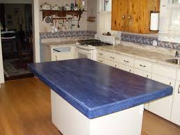 kitchen furniture blue corian countertop kitchen island and