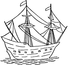 clipart simple caravel