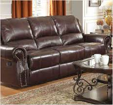 Reclining Sofa Modern by Interior Leather Reclining Sofa Furniture Throws Rustic Leather