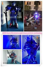 Halloween Costume With Lights by Authentic Optimus Prime Costume Deluxe Optimus Prime
