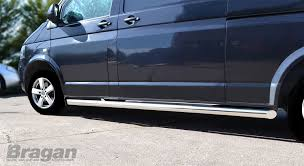 volkswagen van side bragan bra3231s stainless steel side bars amazon co uk car