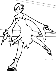 ice skating coloring pages fantasy coloring pages
