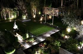 lighting ideas outdoor landscape lighting designs with white