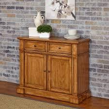 arizona rustic oak server w wine rack antique oak buffet cabinet