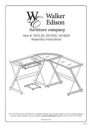 walker edison furniture d51b29 soreno l shaped computer desk user