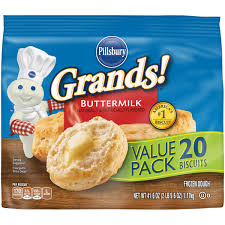 pillsbury grands buttermilk biscuits 20 ct 41 6 oz bag walmart com