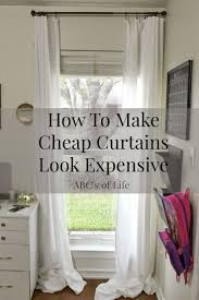 Cheap Window Valances Top 25 Best Inexpensive Curtains Ideas On Pinterest Curtains