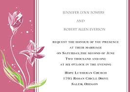 Example Of Invitation Card Invitation Cards Design Online Alesi Info