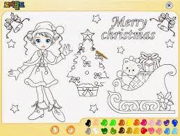 imagenes de navidad para colorear online dibujo de navidad para colorear online navidad interactiva