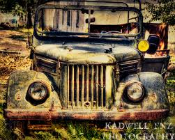 vintage jeep tajik jeep fine art print decor rusted old truck tajikistan