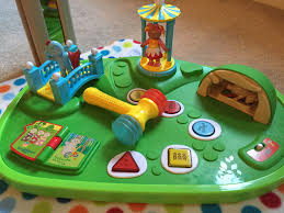 night garden explore learn musical activity table