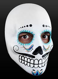 day of the dead masks of the dead mask cavalier made of