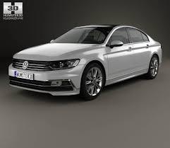 volkswagen passat r line black volkswagen passat r line b8 sedan 2015 3d model hum3d