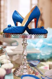 pretty party ideas a blue bridal shower louboutin style u2013 jaimee