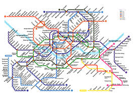 Subway Map by Seoul Subway Metro Map English Version Updated