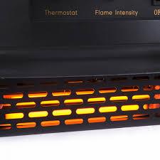 della 1400w electric fireplace portable stove onebigoutlet com