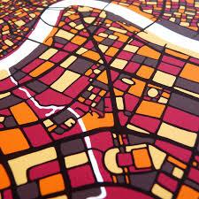Shanghai Map Shanghai Map Art Print By Firewater Gallery Notonthehighstreet Com