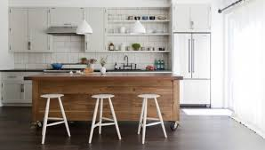 small kitchen island on wheels with seating small portable photo