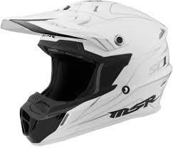 white motocross helmet 119 95 msr sc1 pinstripe motocross mx riding helmet 997989
