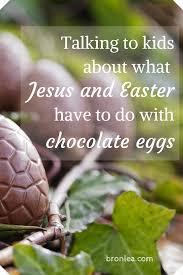 talking easter eggs talking to kids about what easter and jesus to do with