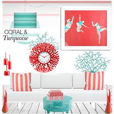 polyvore home decor coral color home decor interior lighting design ideas coral color