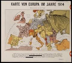 World War 1 Europe Map by Satirical World War One Maps Flickr