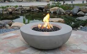 Firepit Uk Lunar Bowl Eco Grey Gas Pit Elementi Uk Ebay