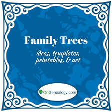 as 25 melhores ideias de family tree templates no pinterest