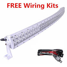 52 inch curved light bar cover easynew 52 inch 300w white curved led light bar flood spot combo