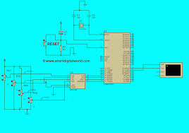interfacing mcp3204 8051 microcontroller anant digital world