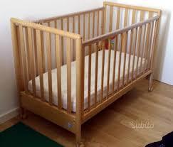 materasso per lettino pali lettino pali bravo completo di materasso tutto per i bambini in