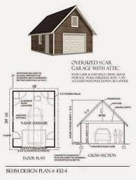 garage plans blog behm design garage plan examples plan 432 4