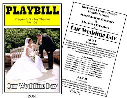 playbill wedding program playbill invitation and announcement key chain newborn items