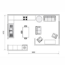 cuisine ouverte sur salon 30m2 aménager un salon cuisine de 30m2 recherche déco