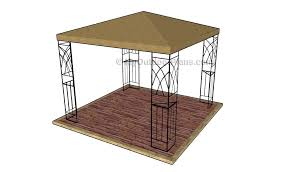 Free Outdoor Woodworking Project Plans by Outdoor Pavilion Plans Myoutdoorplans Free Woodworking Plans