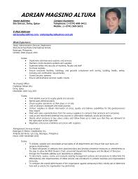Comprehensive Resume Sample For Nurses by Sample Of Comprehensive Resume Free Resume Example And Writing